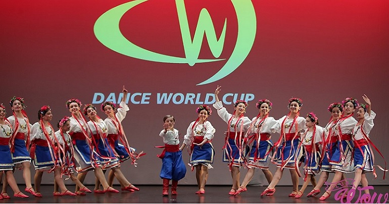 Medalha de Bronze na Taça do Mundo de Dança