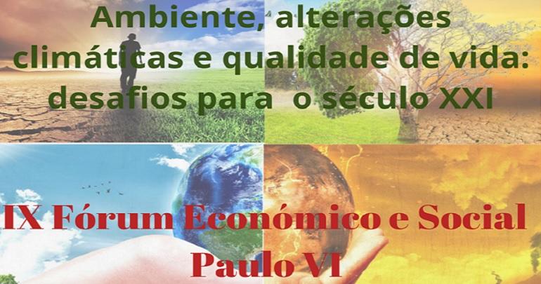 IX Fórum Económico e Social Paulo VI