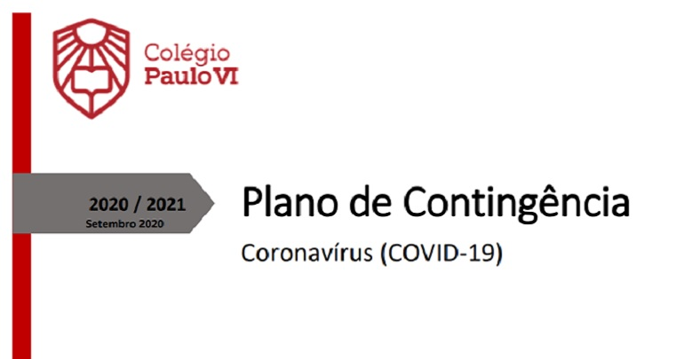 Plano de Contingência Covid-19 Setembro 2020